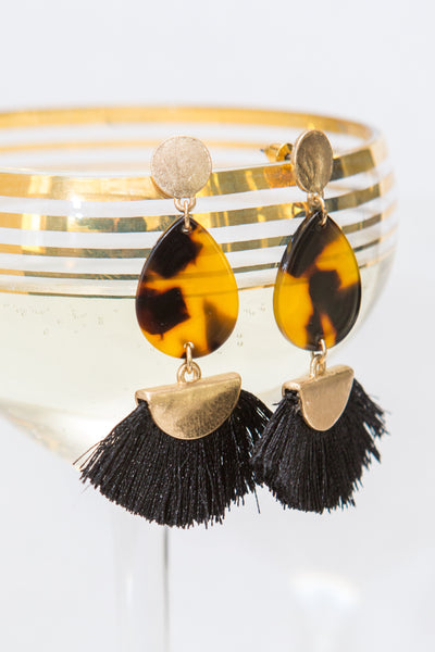 Wild Thang Tassle Earrings