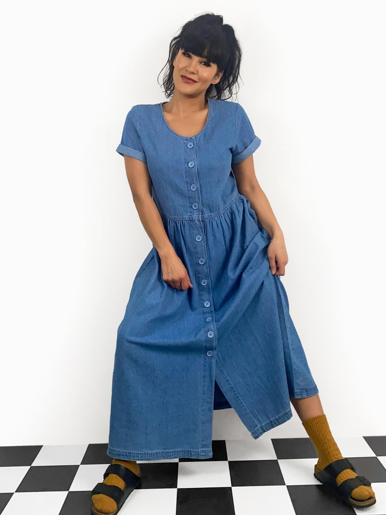 Molly denim dress