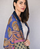 African Textiles Shawl - Reversible