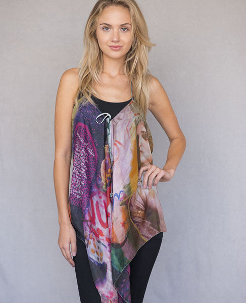 Women of Valor Halter Scarf Top
