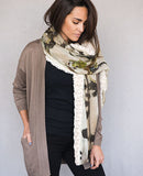 Zen Graffiti Shawl - Reversible