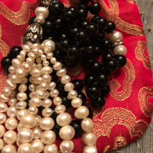 Black Onyx Art Deco Mala