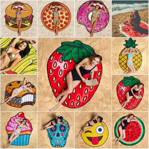 3D Beach Blanket - NEW