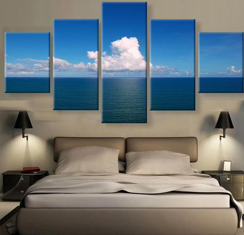 5 Panel Canvas Painting Multi-Collection - Frame or No Frame