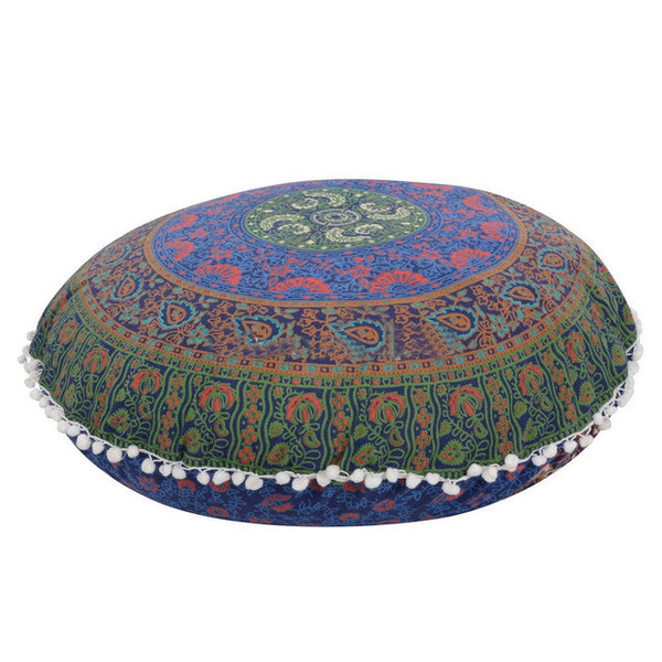 Large Mandala Floor Cushion Cover