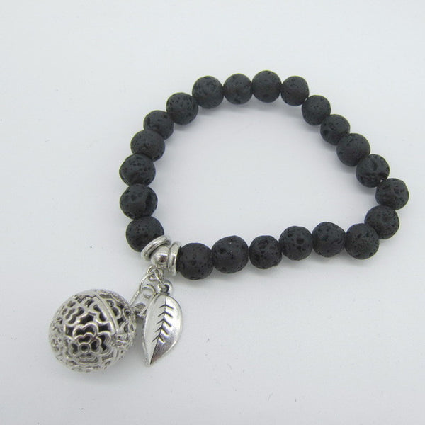 P&H Charm and Locket Bracelet - Essential Oil