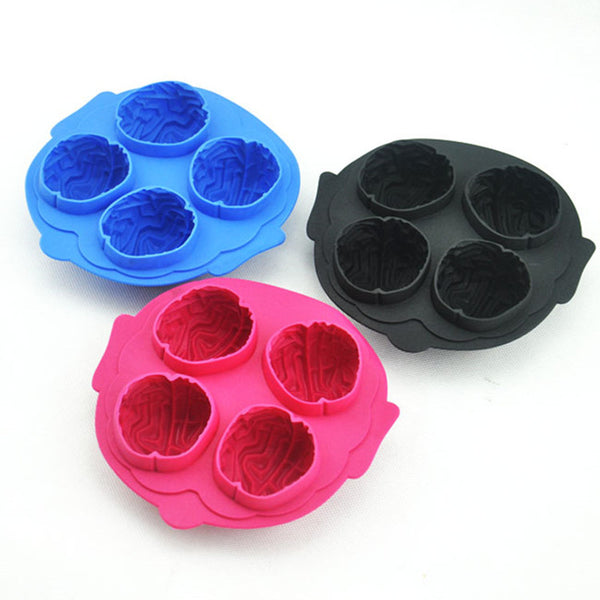 Brain Silicone Ice Cube Maker