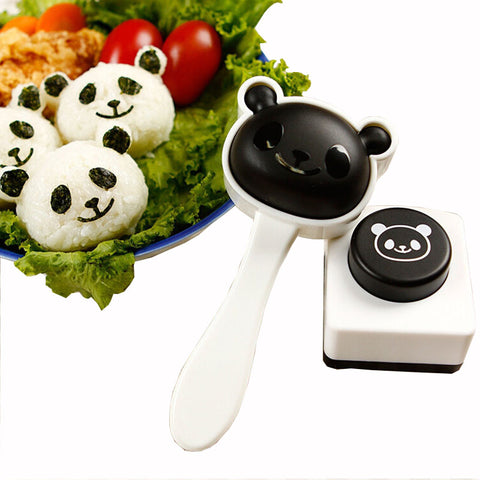 Cute Panda Shape Rice Sushi Mold