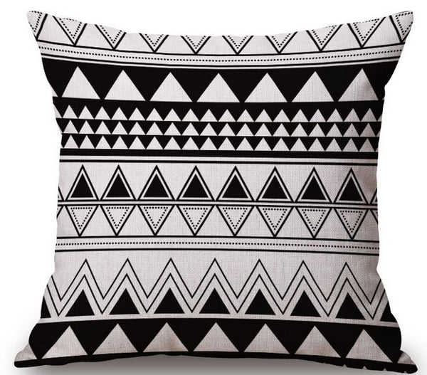 Nordic Abstract Geometric Home Pillow Case
