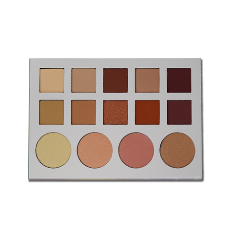 The Makeup Shack - Desert Suede 35 Color Palette