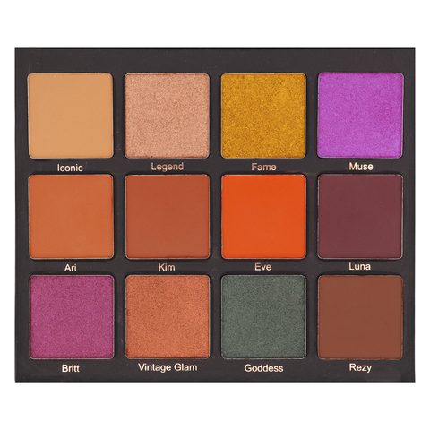Secret Love Affair - 15 Large Matte Eyeshadows