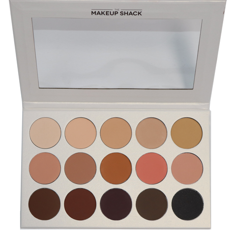 The Makeup Shack - Mahogany 35 Color Palette
