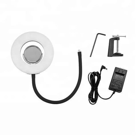 8'' LED Ring Light with Mirror flexible stand