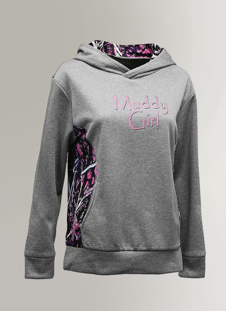 Muddy Girl Princess Seam Hoodie