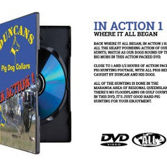 Duncans In Action Vol 1 | Brisbane Hunting Supplies | DVD's