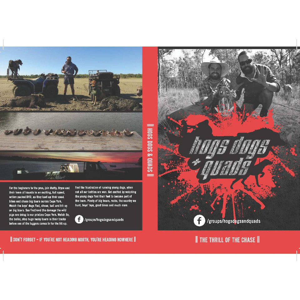 Hogs Dogs and Quads DVD | Brisbane Hunting Supplies | DVDs