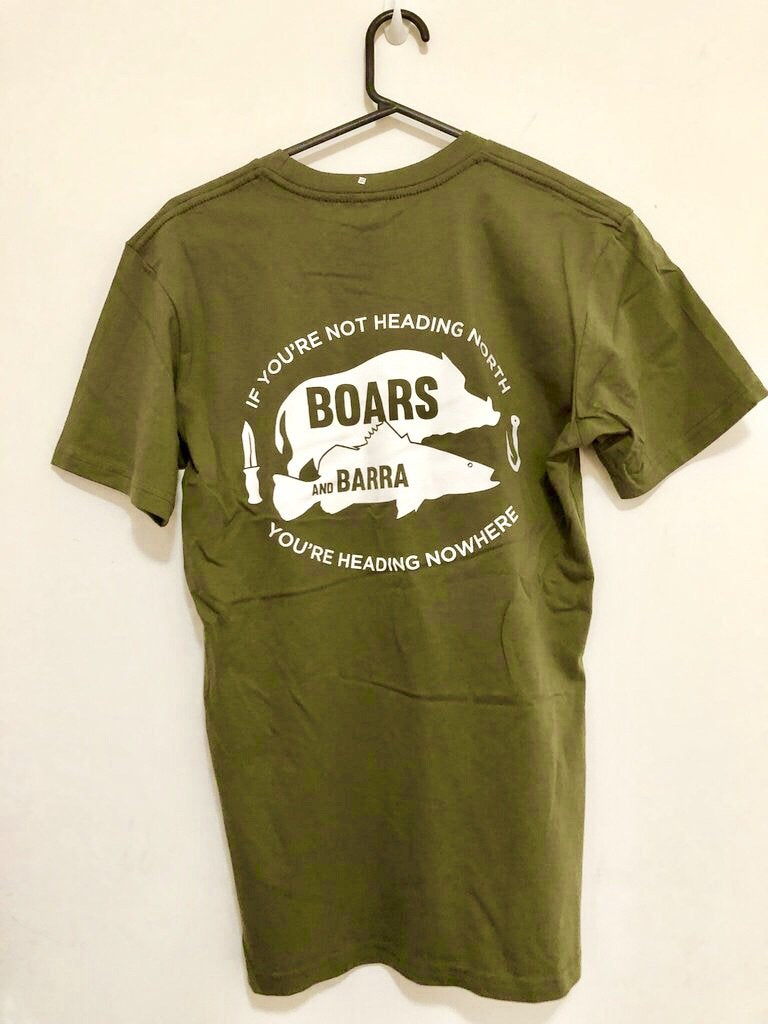 HDQ Boars & Barra T Shirt