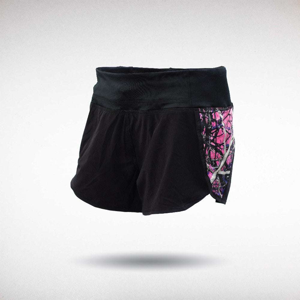 Muddy Girl Camo | Black Muddy Girl Shorts | Brisbane Hunting Supplies