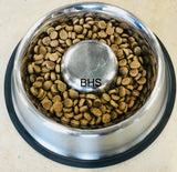 Dog bowl stainless steel slow feeder