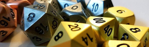 Dice Nerdery: What's so good about metal dice?