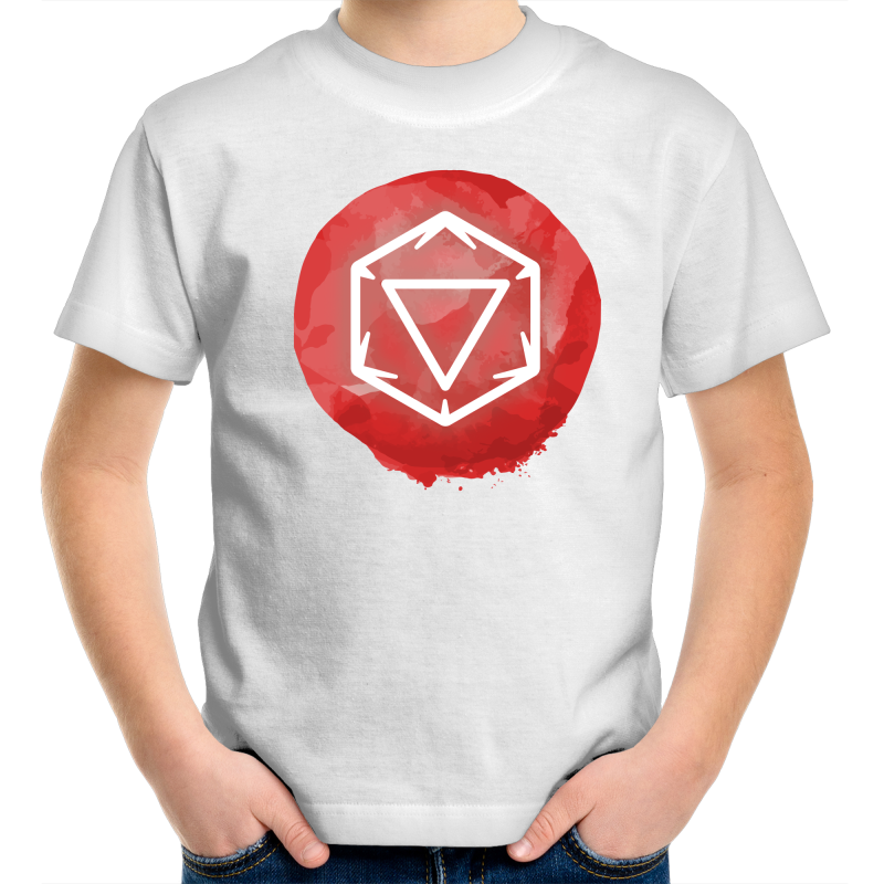 Imaginary Adventures Logo on Red - Kid's Youth T-Shirt - Imaginary Adventures