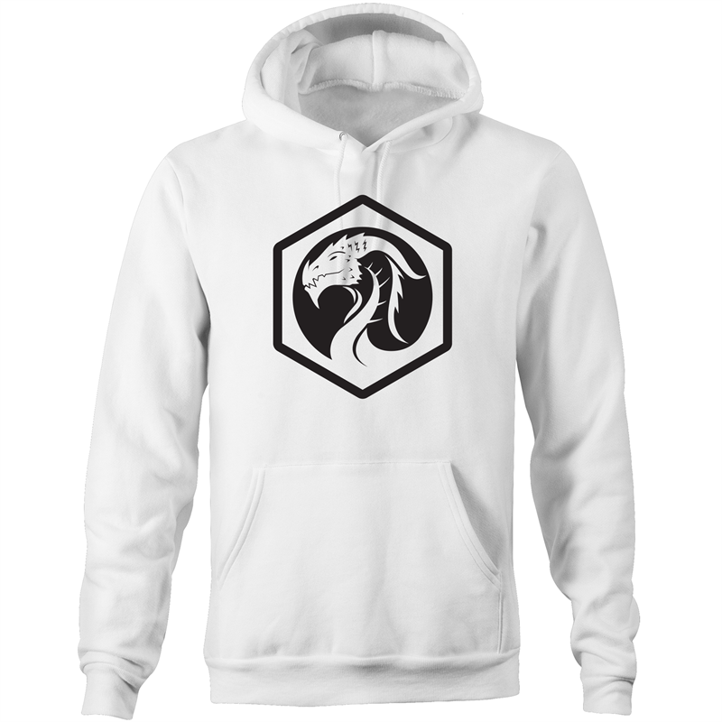Dragon Logo - Hoodie with Pockets - Imaginary Adventures