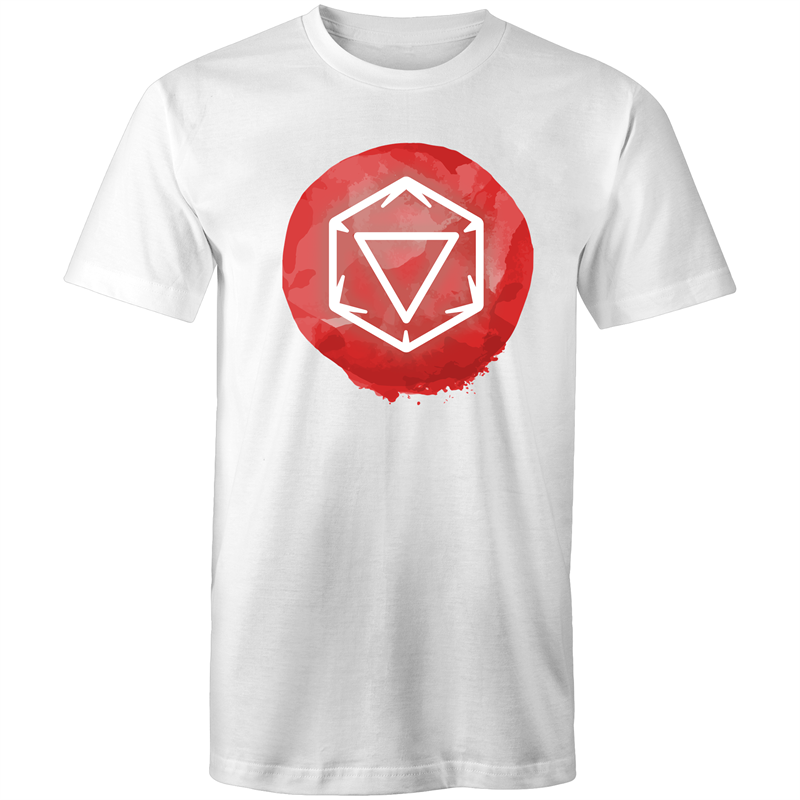 Imaginary Adventures Logo on Red - Men's/Unisex T-Shirt - Imaginary Adventures