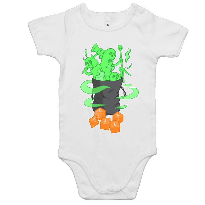 Bag Of Bad Rolls - Baby Onesie Romper - Imaginary Adventures