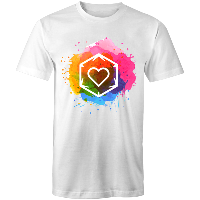 Rainbow Love - Men's/Unisex T-Shirt - Imaginary Adventures