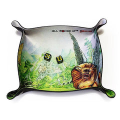 All Rolled Up Dice Tray - Fighting Fantasy Shamutanti Hills - Imaginary Adventures