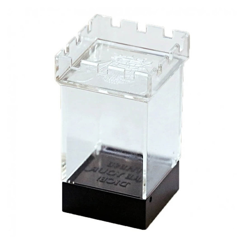 Castle Plastic Dice Display Box - Imaginary Adventures