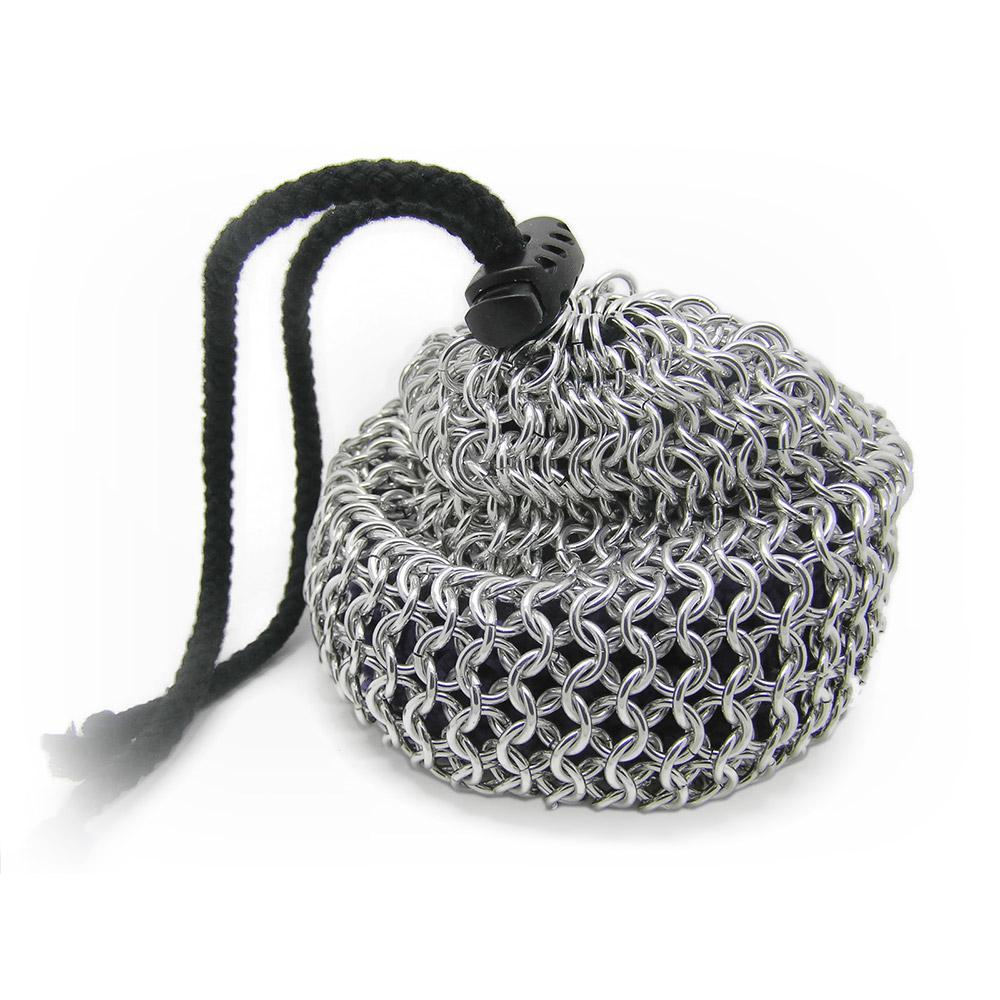 Chain-mail Dice Bag - Large - Caz's Creations - Imaginary Adventures