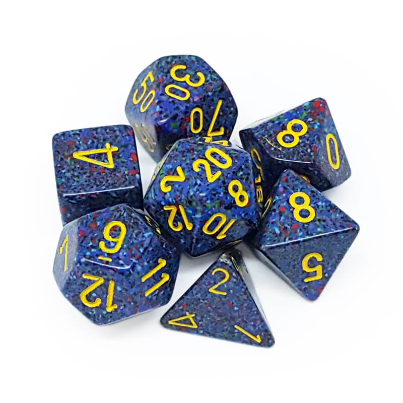 Chessex 25366 Speckled Twilight Dice Set - Imaginary Adventures