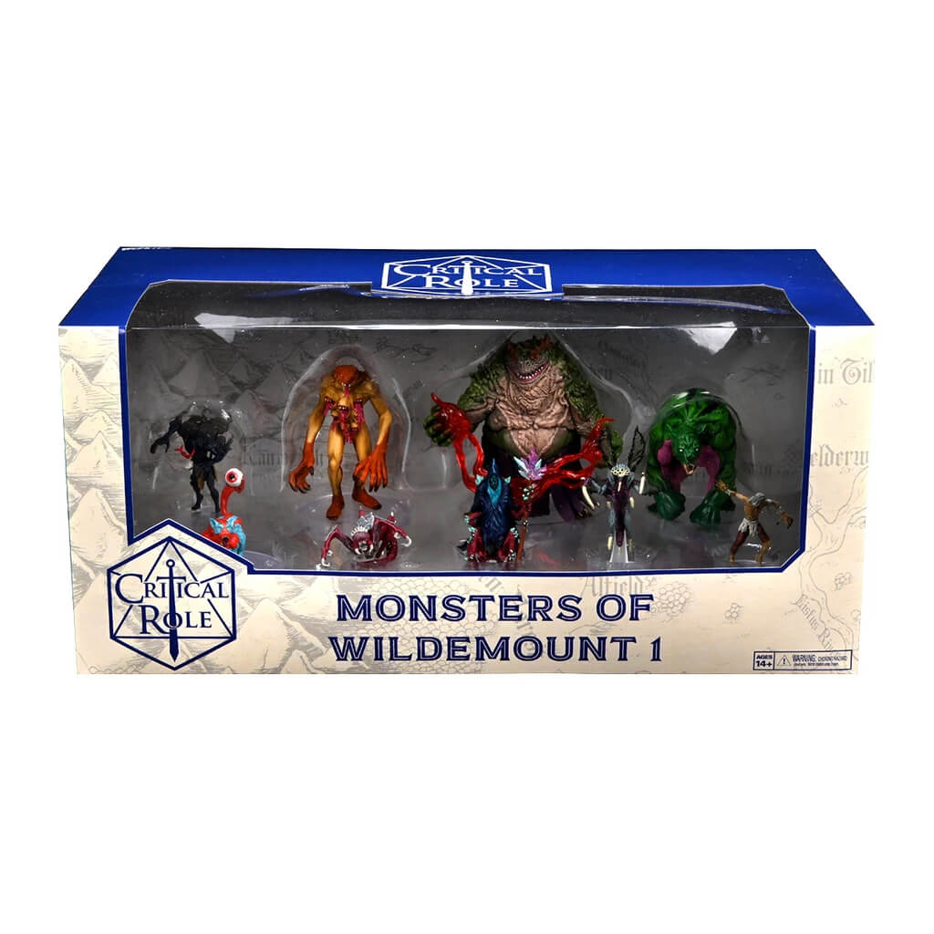 Critical Role Minis - Monsters of Wildemount Box 1 - PREORDER