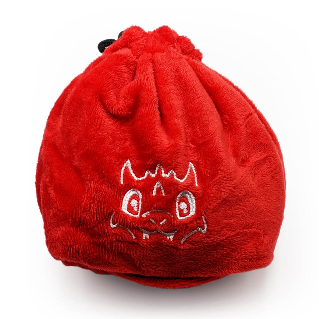 Red Dragon Cute Creature Dice Bag - Imaginary Adventures