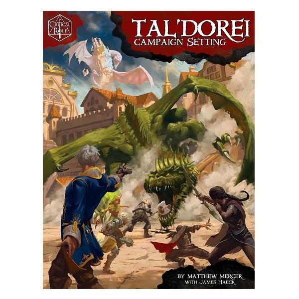 Dungeons and Dragons Critical Role Tal'Dorei Campaign Setting