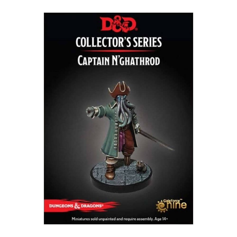 Dungeons & Dragons Collector's Series - Dungeon of the Mad Mage - Captain N'ghathrod - PREORDER - Imaginary Adventures