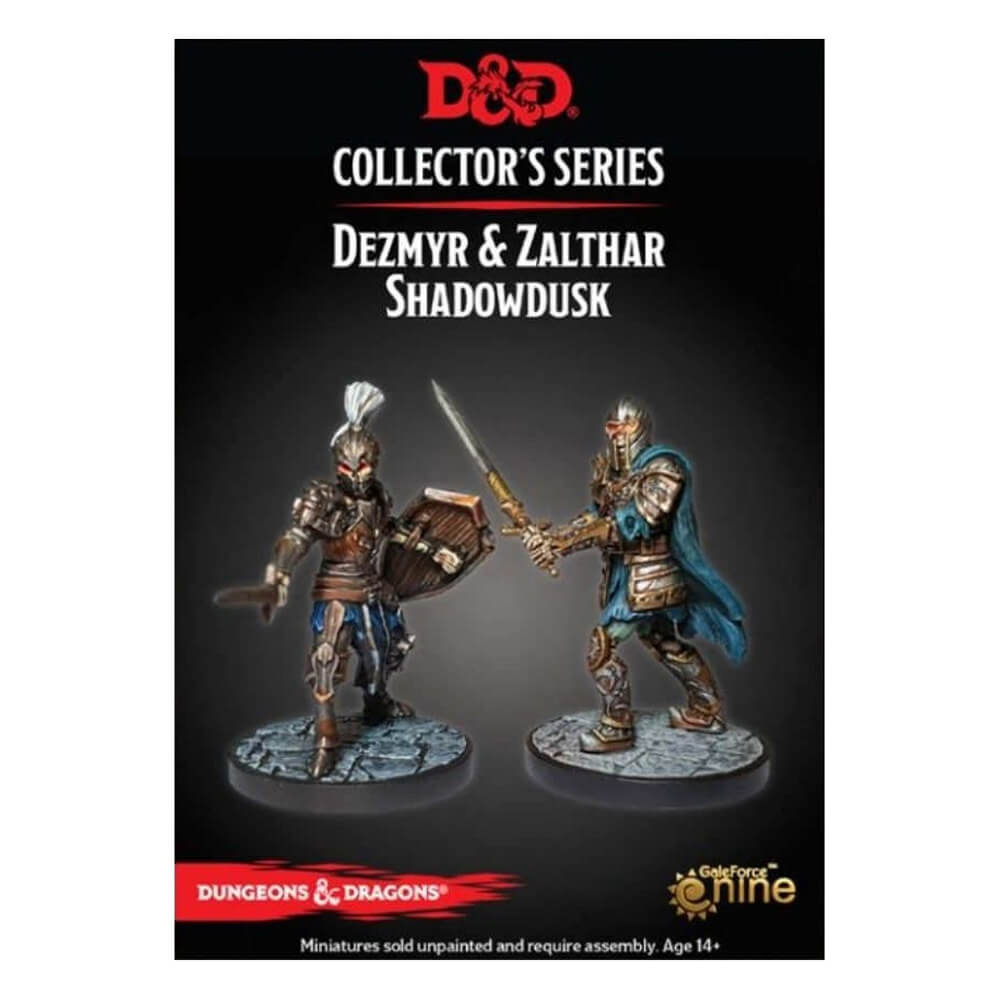 Dungeons & Dragons Collector's Series - Dungeon of the Mad Mage - Dezmyr & Zalthar Shadowdusk - PREORDER - Imaginary Adventures