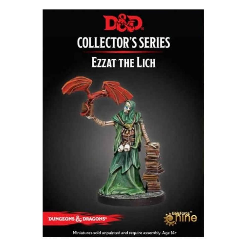 D&D Collector's Series - Dungeon of the Mad Mage - Ezzat the Lich - Imaginary Adventures