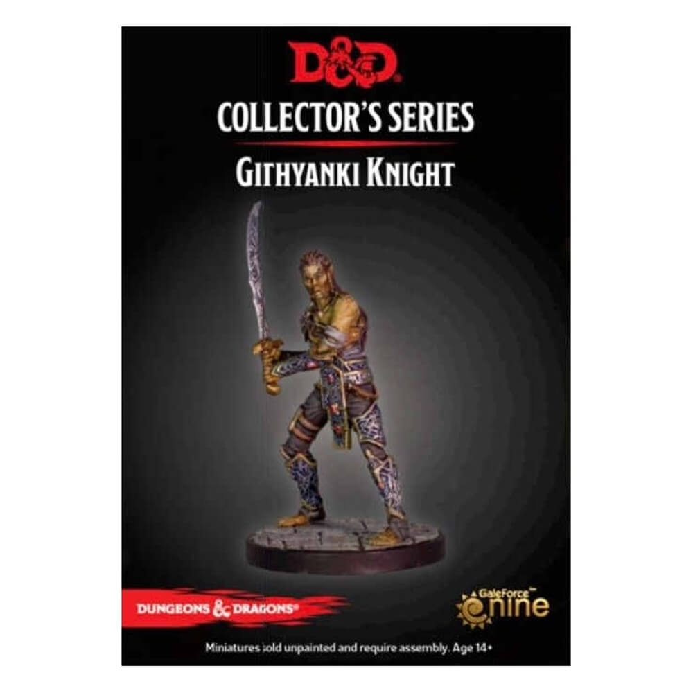 Dungeons & Dragons Collector's Series - Dungeon of the Mad Mage - Githyanki Knight - Imaginary Adventures