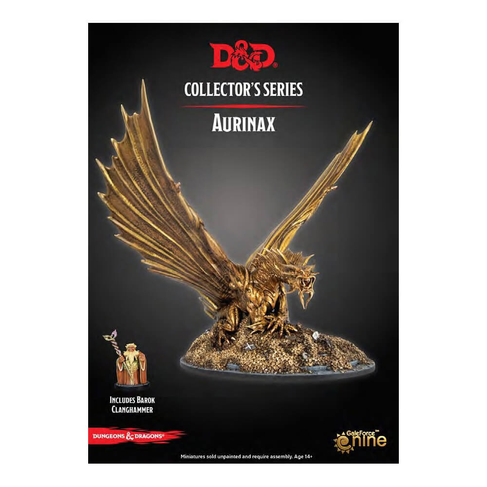 Dungeons & Dragons Collector's Series - Dragon Heist - Aurinax - Imaginary Adventures