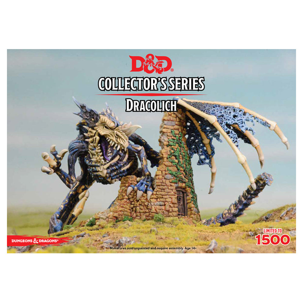 D&D Unpainted Collector's Series Minis Dracolich - Imaginary Adventures