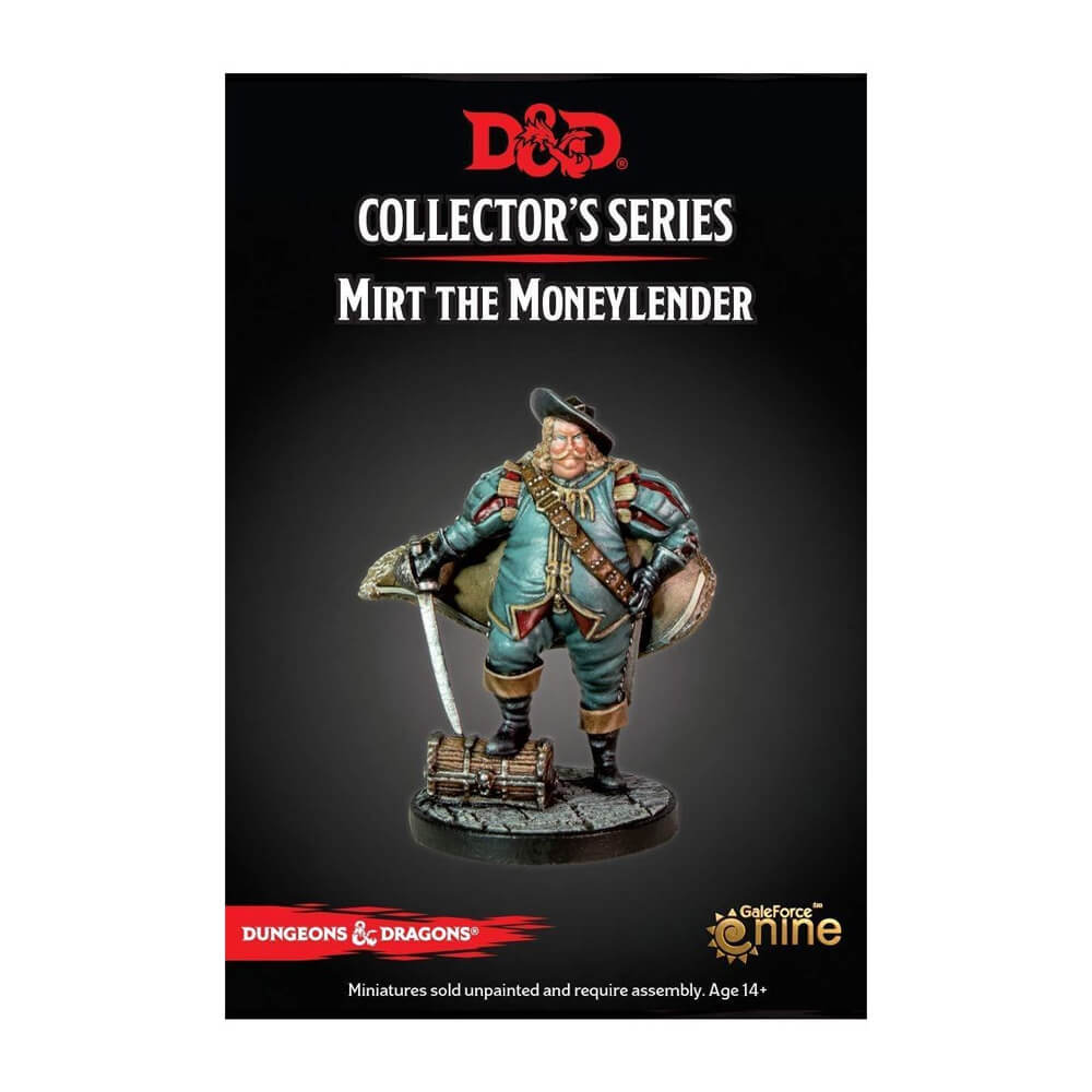 Dungeons & Dragons Collector's Series - Dragon Heist - Mirt the Moneylender - Imaginary Adventures