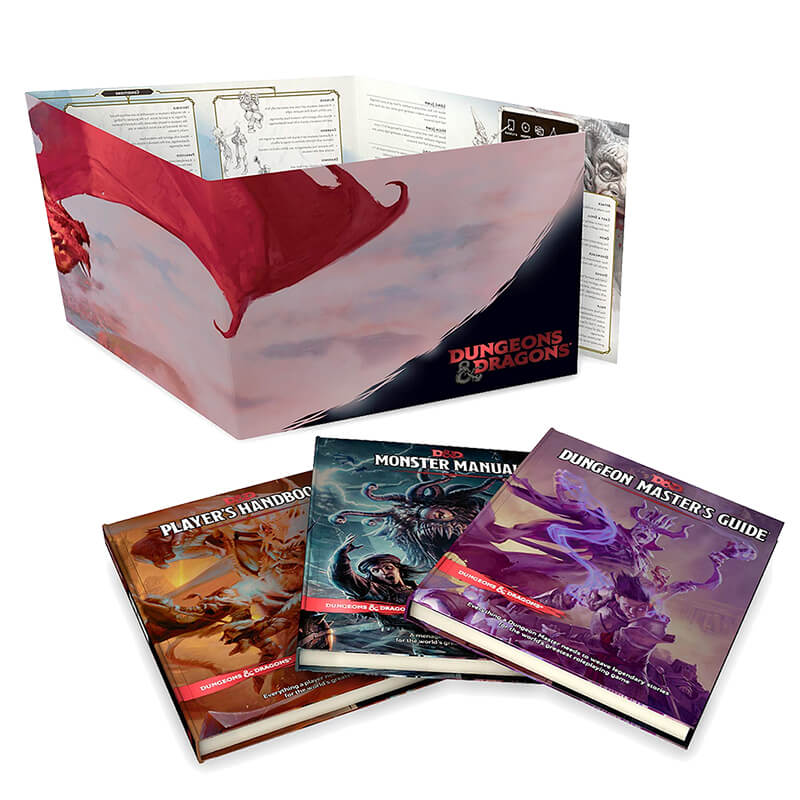 Dungeons and Dragons Core Rules Bundle - Imaginary Adventures