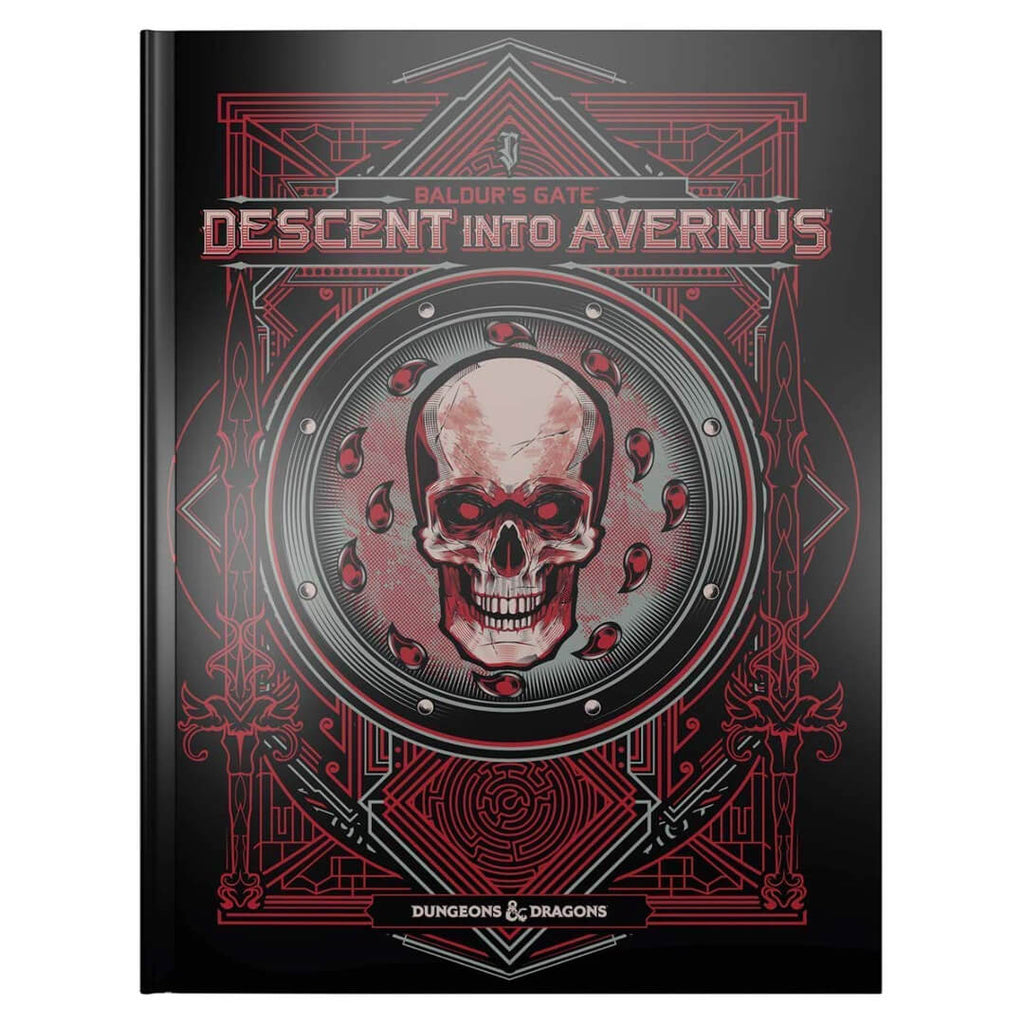 D&D Baldur's Gate Descent into Avernus Alternative Cover - Imaginary Adventures