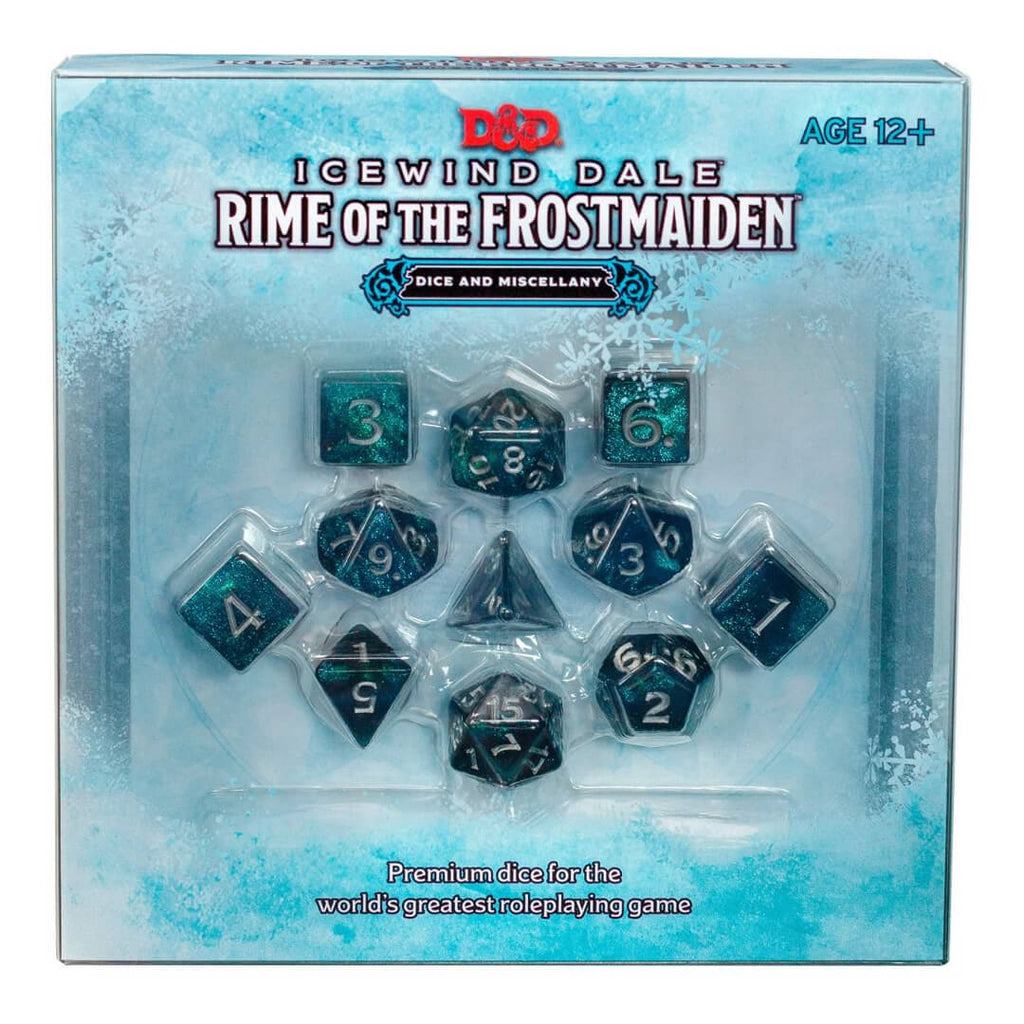 D&D Icewind Dale Rime of the Frostmaiden Dice & Miscellany - PREORDER