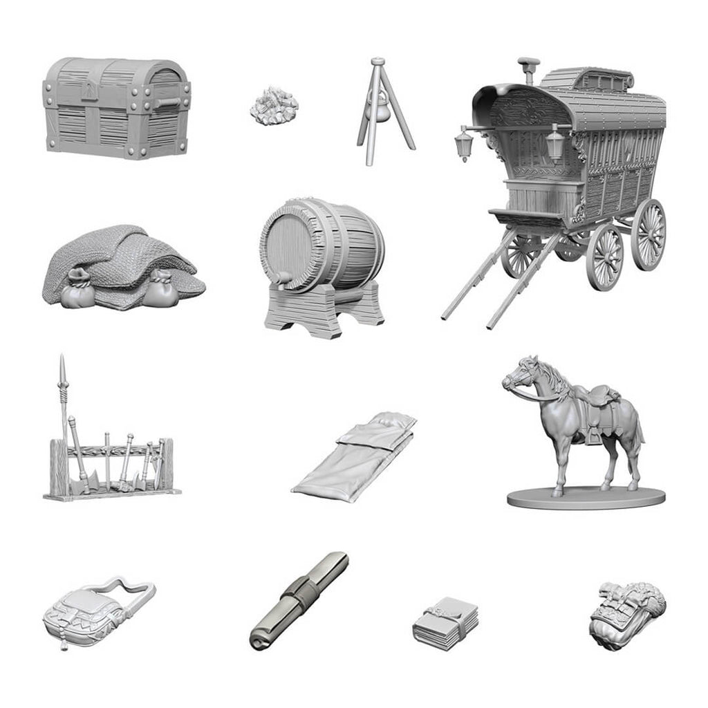 Nolzur's Marvelous Unpainted Minis - Adventurer's Campground - Imaginary Adventures