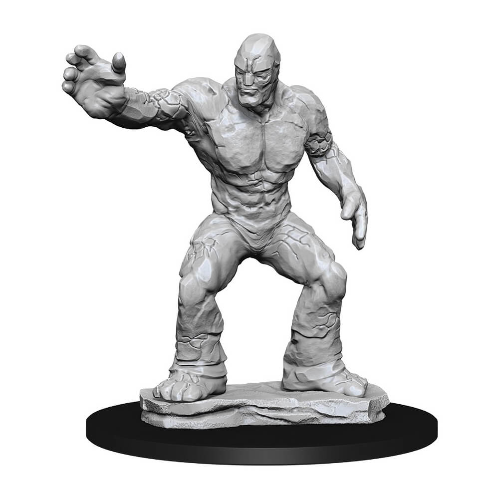 D&D Minis - Clay Golem - Imaginary Adventures