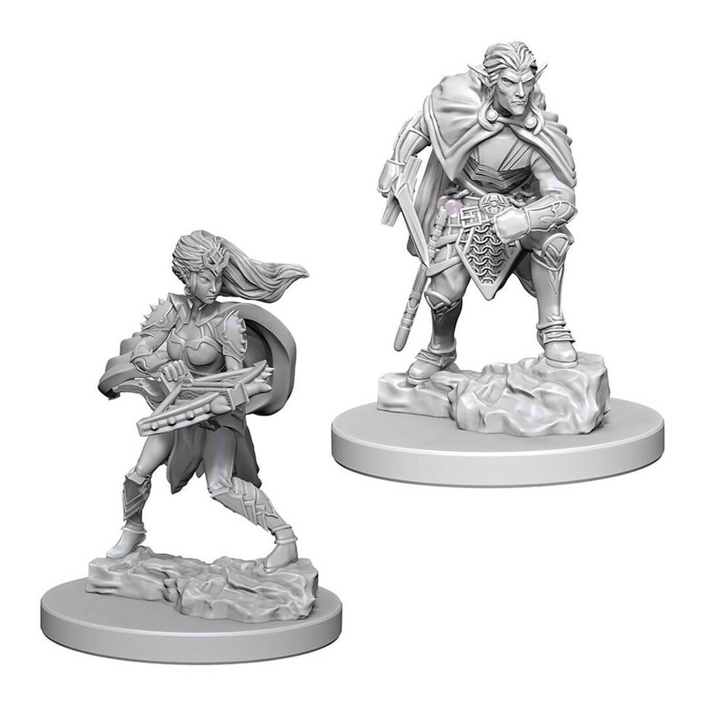 D&D Minis - Drow - Imaginary Adventures