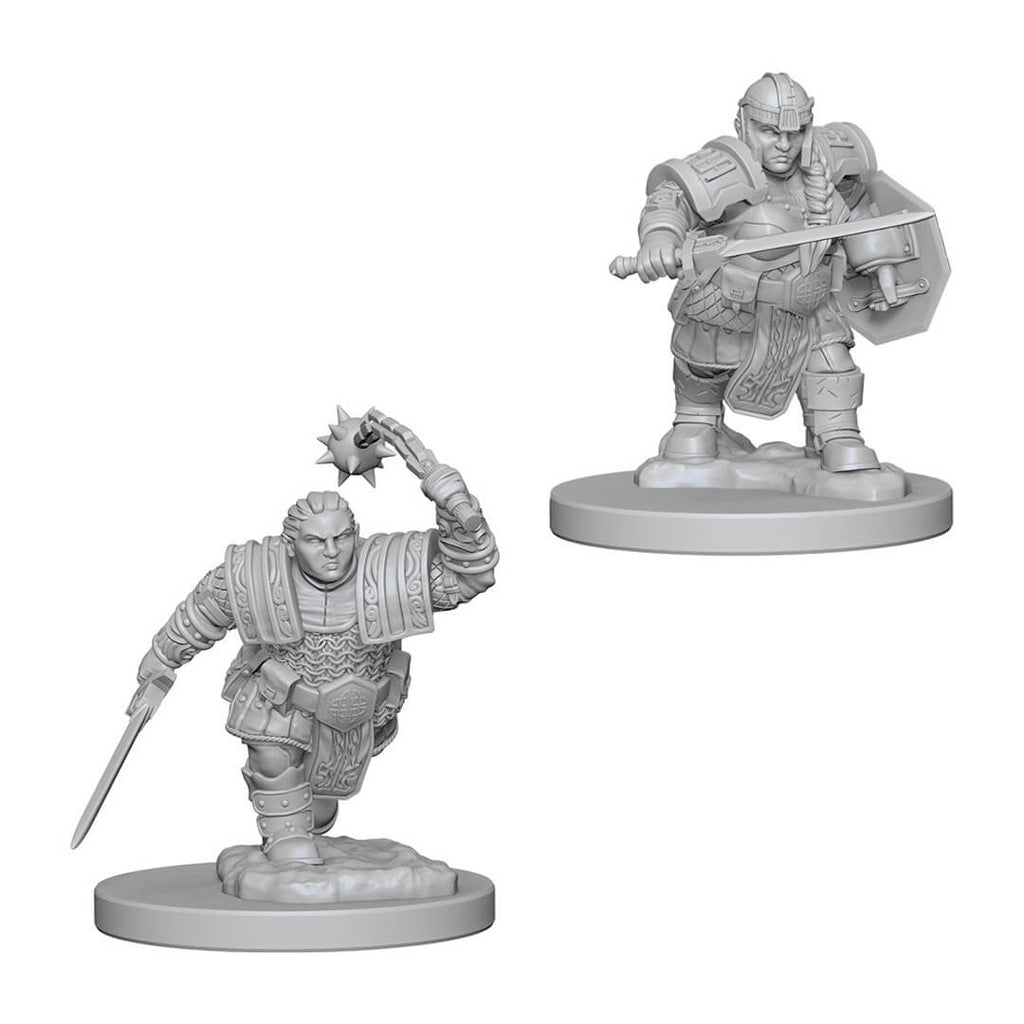 D&D Minis - Dwarf Female Fighter - Imaginary Adventures